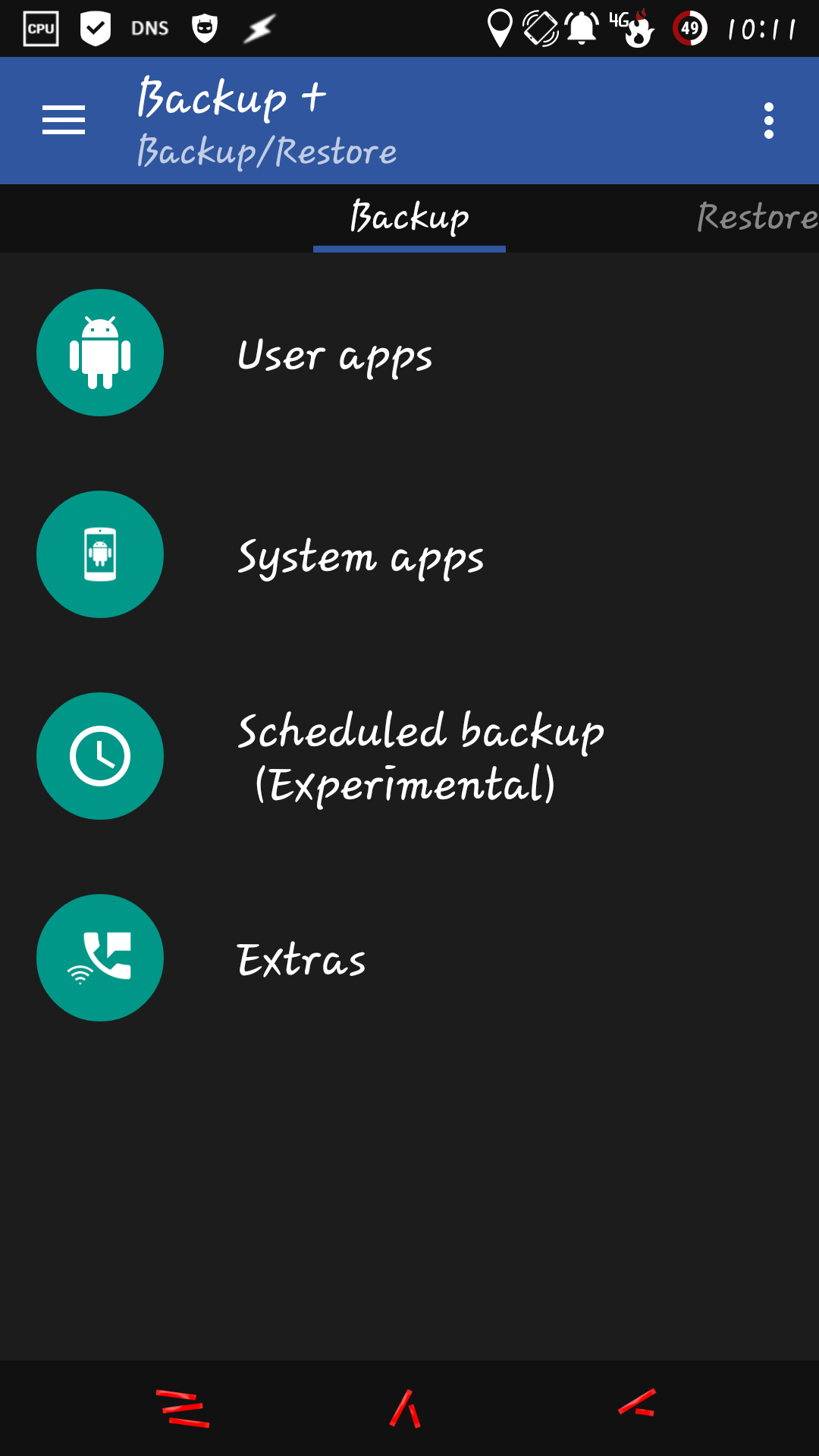 [APPLICATION ANDROID - Backup+] Sauvegarde d'applications (Comme Titanium backup) 14347245762433
