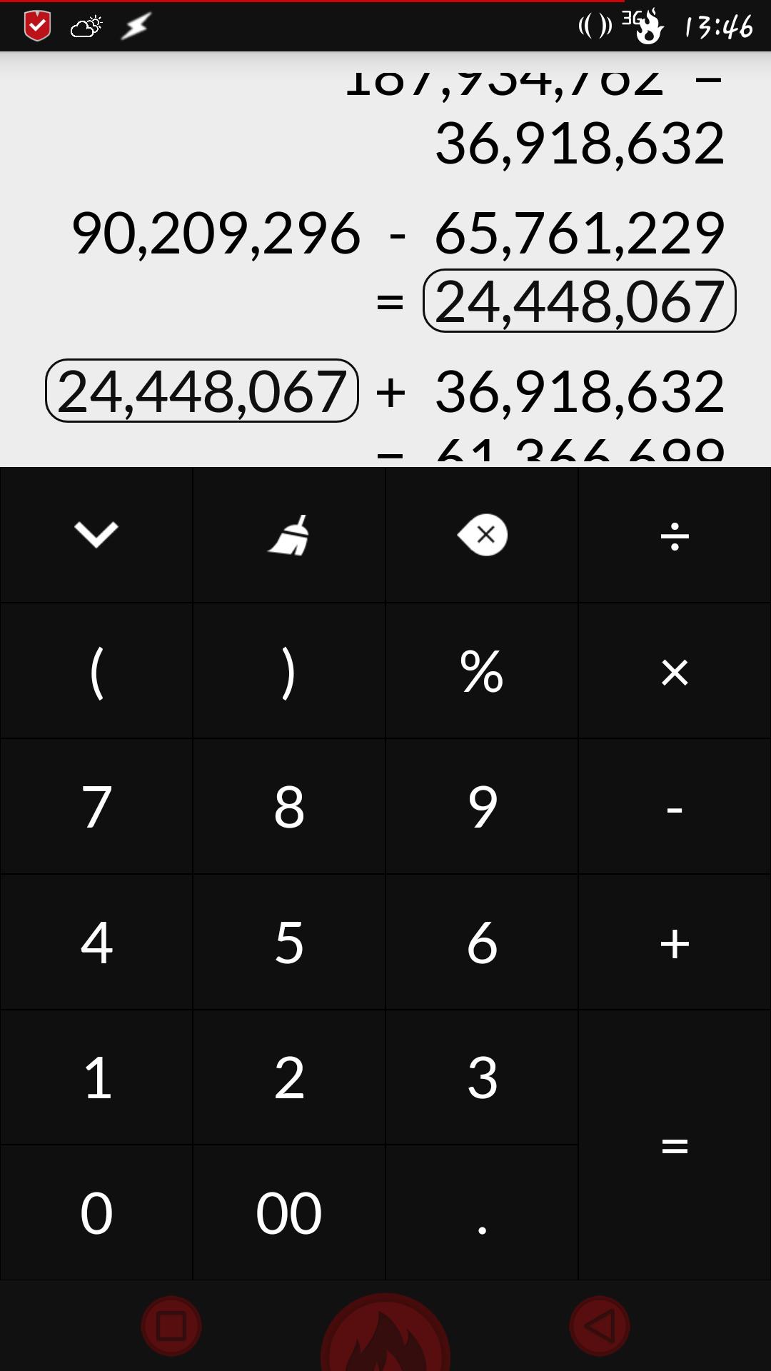 [APPLICATION ANDROID - CALC+] Une calculatrice différente avec plus de 15 thèmes [Gratuit] 144342351761055