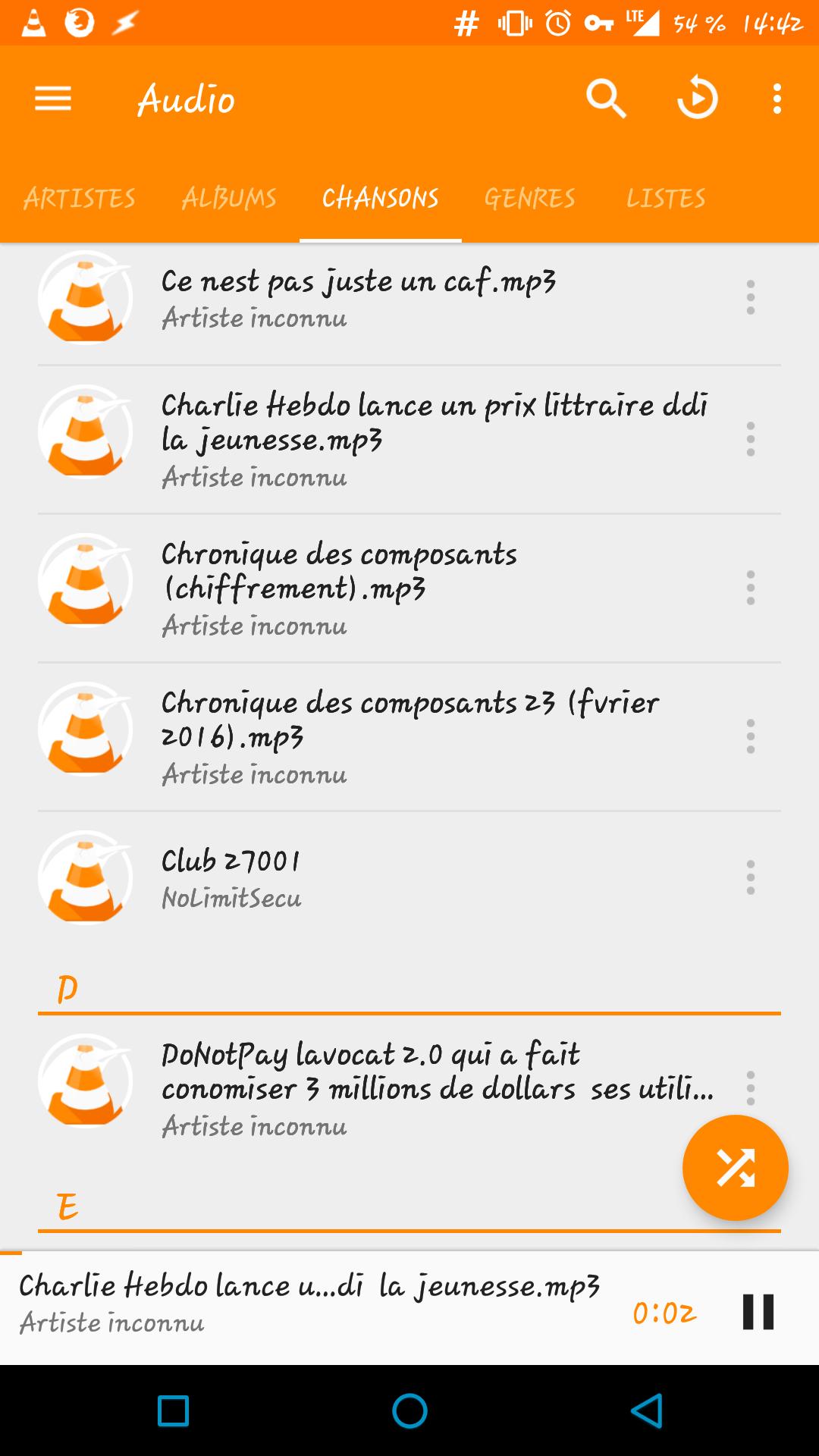 [ASTUCE] Créer une liste de lecture (playlist) avec VLC sous Android 145682351762120