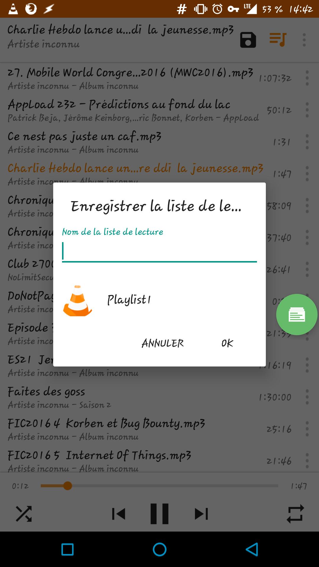 [ASTUCE] Créer une liste de lecture (playlist) avec VLC sous Android 145682351762248