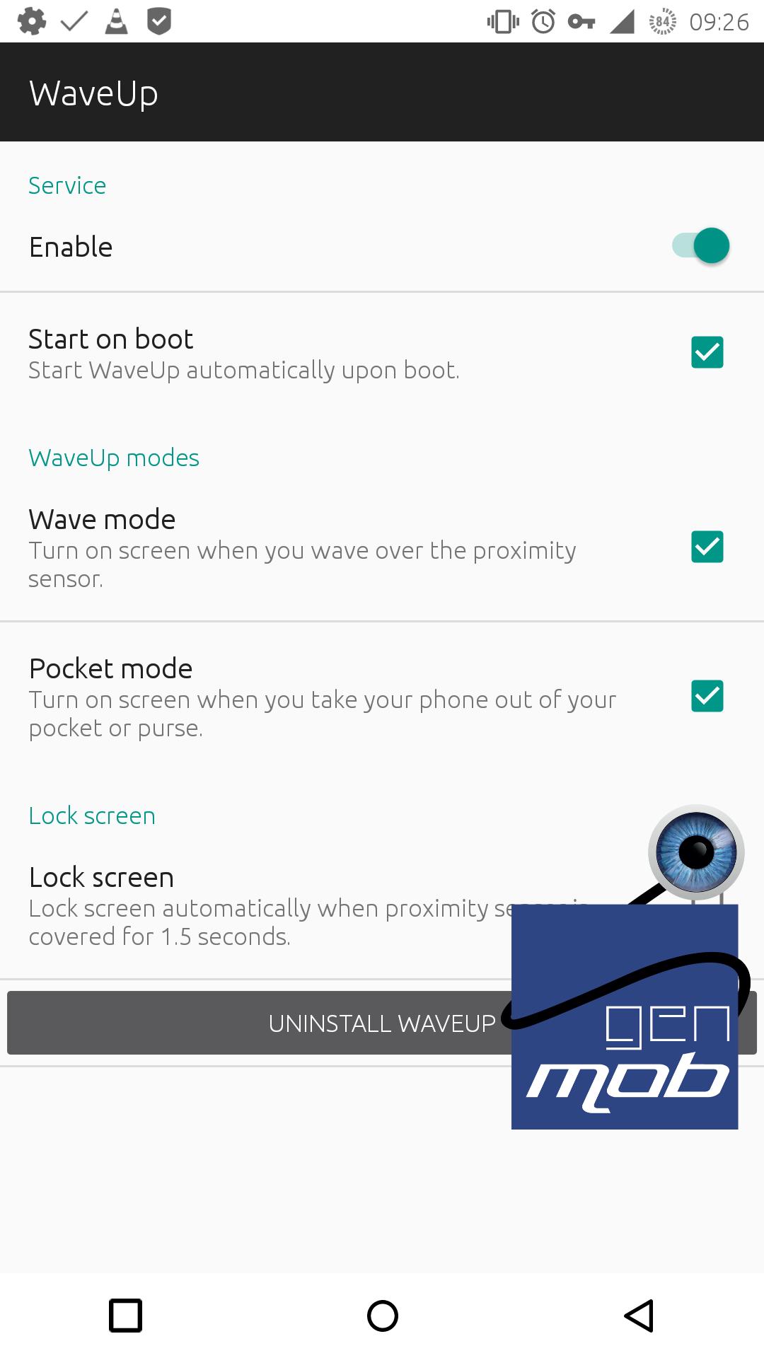 [APPLICATION ANDROID - WaveUp] Allumer et éteindre l'écran sans le toucher - Battery friendly [Gratuit] 14607245766892