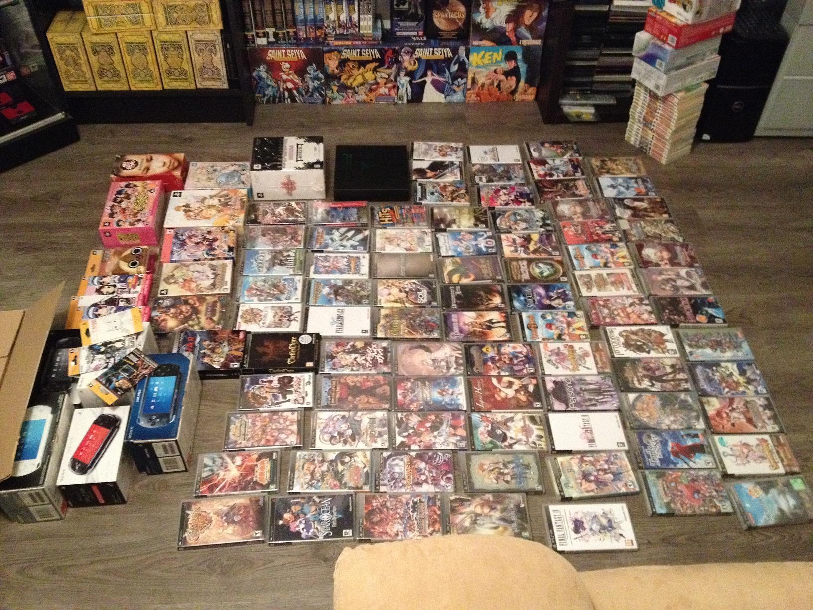 [ESTIM] Collection PSP (jeux et consoles) 152070922310827683