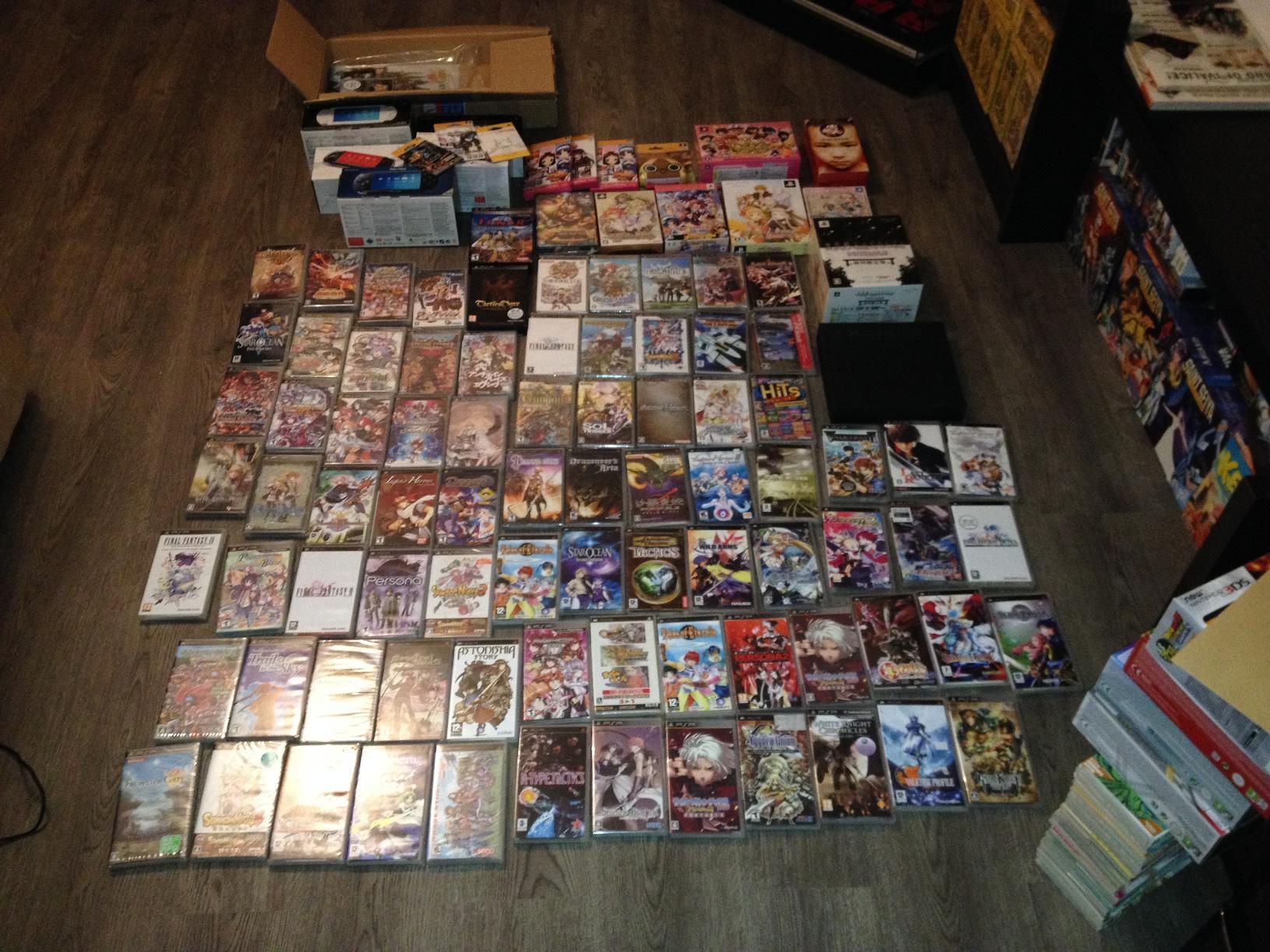 [ESTIM] Collection PSP (jeux et consoles) 1520709252593677299