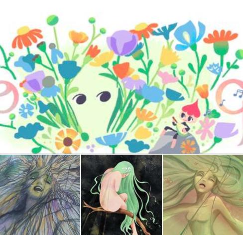 🌱 ~ Asphodèle art dolls ~ 🌱 Etincelle 💚✨ 1522934154386405296