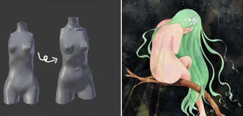🌱 ~ Asphodèle art dolls ~ 🌱 Etincelle 💚✨ 1522934820917650579