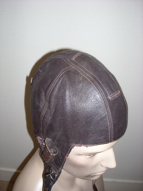 casque souple en cuir WWII 15243950891099102500