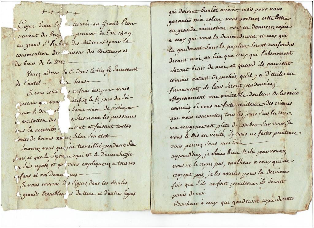Magie, superstition de 1789 à 1815 193