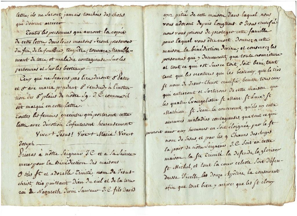 Magie, superstition de 1789 à 1815 194