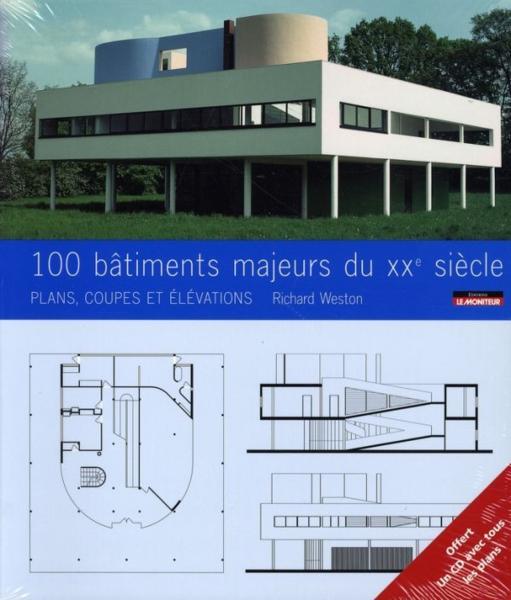 le CD du livre : 100 Bâtiments célèbres du 20e siècle : plans, coupes et élévations 7876440_4026890