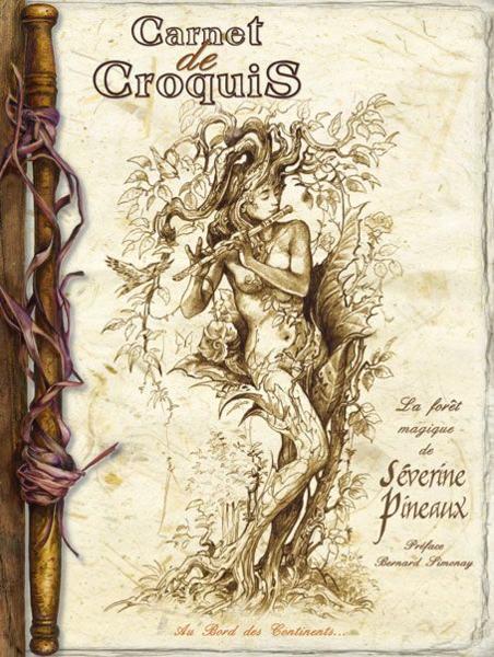 Carnet de croquis, la forêt magique de Séverine Pineaux 22810799_4047601