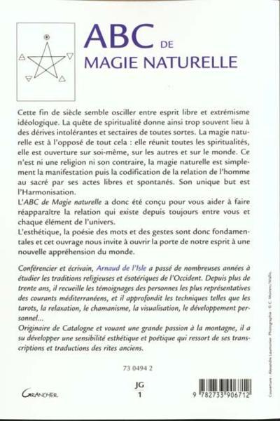 ABC de magie naturelle : Arnaud de L'isle  1242932_3153928