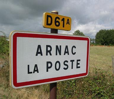 insolite !!  Arnac-la-poste-D61A