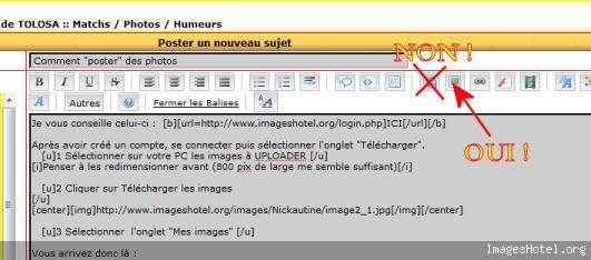 """Comment """"poster"""" des photos Image7"""