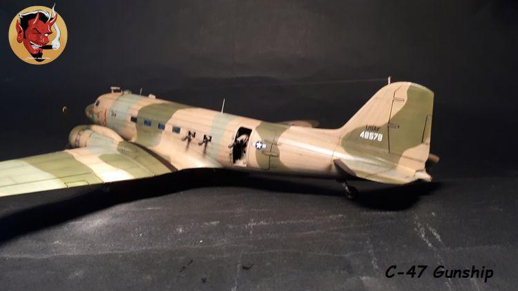"C-47 Gunship Italeri ""Spooky"" - Page 2 20190625162107"