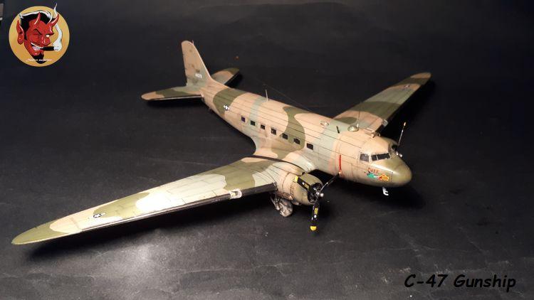 "C-47 Gunship Italeri ""Spooky"" - Page 2 20190625162156"