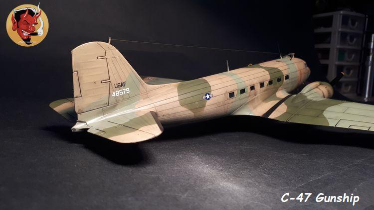 "C-47 Gunship Italeri ""Spooky"" - Page 2 20190625162257"