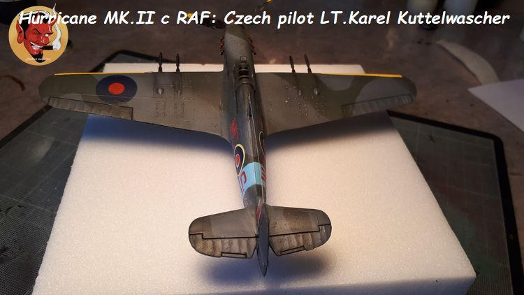 [mister Craft]Hawker Hurricane MK.IIC Czech LT Karel Kuttelwasher 20190708144706