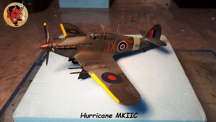[mister Craft]Hawker Hurricane MK.IIC Czech LT Karel Kuttelwasher 20190805133927