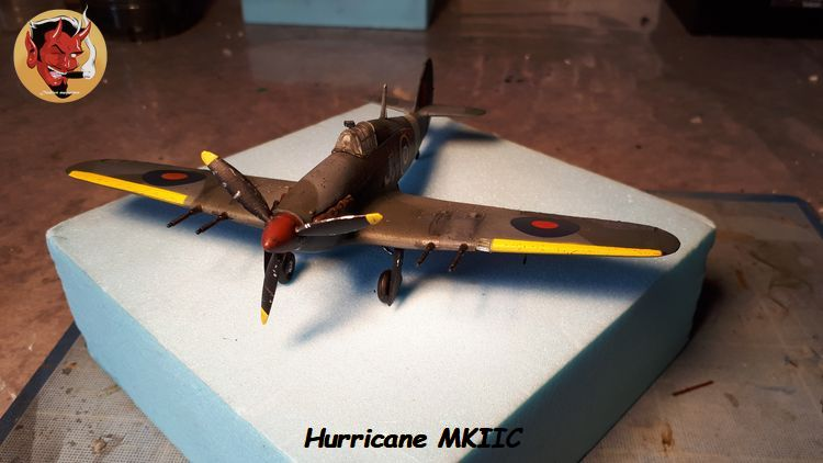 [mister Craft]Hawker Hurricane MK.IIC Czech LT Karel Kuttelwasher 20190805133944
