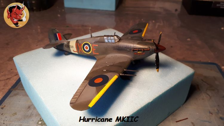 [mister Craft]Hawker Hurricane MK.IIC Czech LT Karel Kuttelwasher 20190805134014