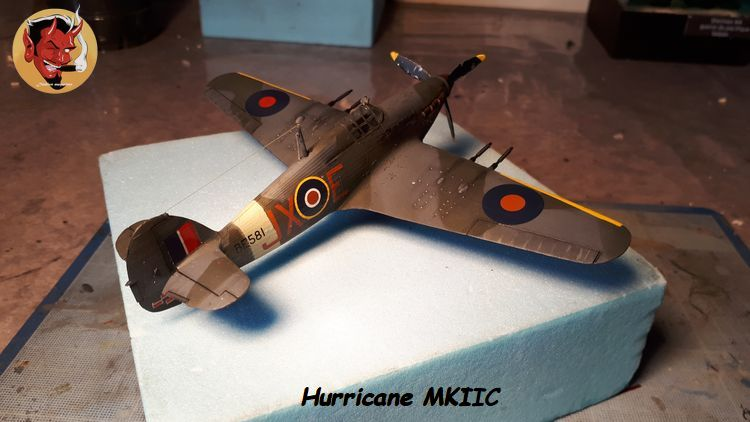 [mister Craft]Hawker Hurricane MK.IIC Czech LT Karel Kuttelwasher 20190805134031