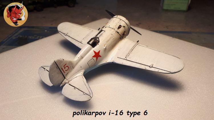 [Amodel] Polykarpov i-16 type 6/  20190813185117