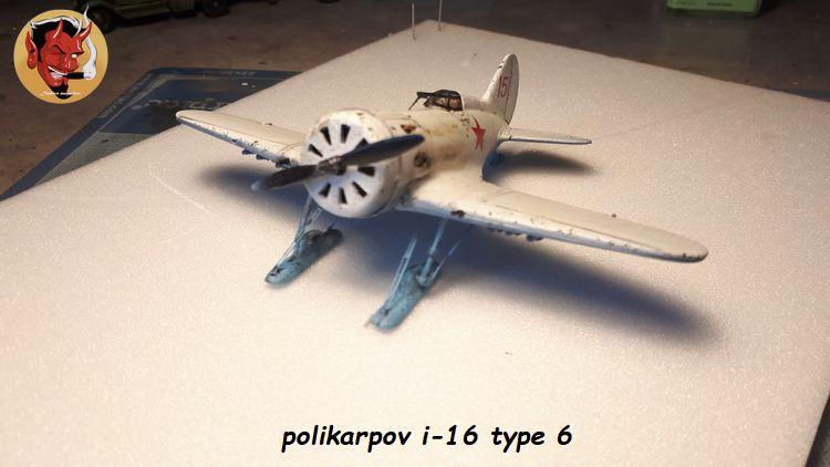 [Amodel] Polykarpov i-16 type 6/  20190813185206