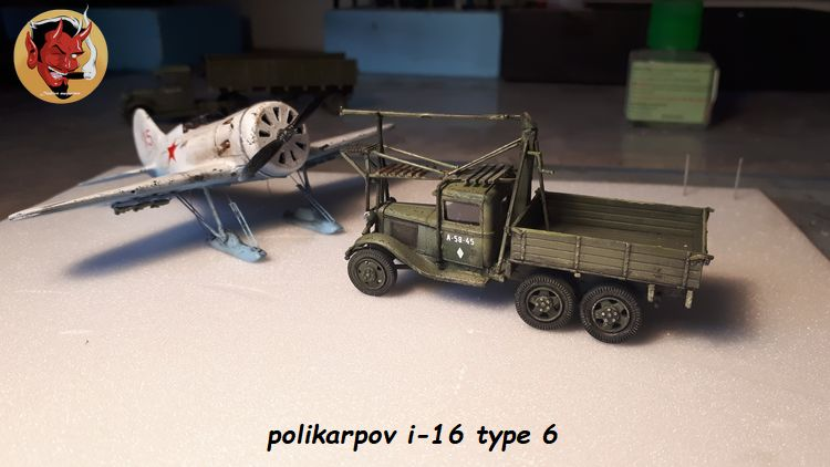 [Amodel] Polykarpov i-16 type 6/  20190813185344