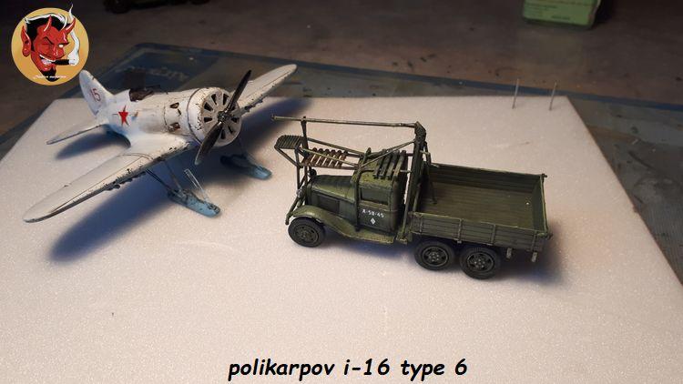 [Amodel] Polykarpov i-16 type 6/  20190813185429