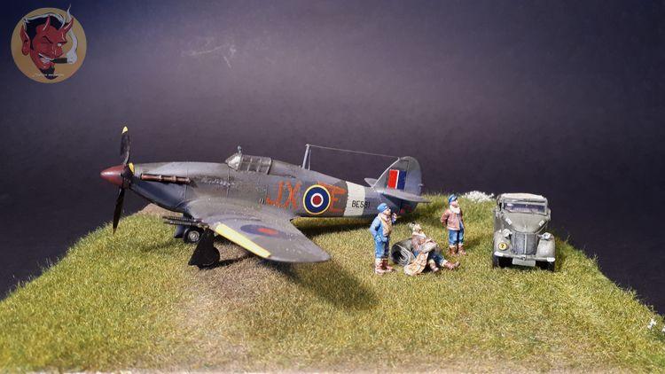 [mister Craft]Hawker Hurricane MK.IIC Czech LT Karel Kuttelwasher - Page 2 20191018120212