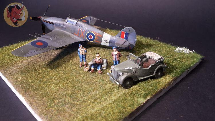 [mister Craft]Hawker Hurricane MK.IIC Czech LT Karel Kuttelwasher - Page 2 20191018120237