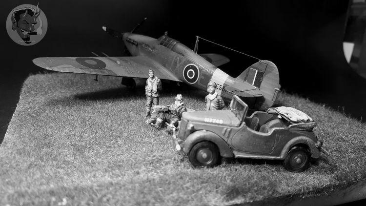 [mister Craft]Hawker Hurricane MK.IIC Czech LT Karel Kuttelwasher - Page 2 20191018120353