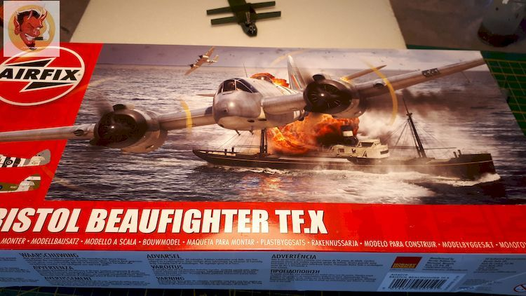 Bristol Beaufighter tf.x Airfix 1/72,et Matador  20200312144155