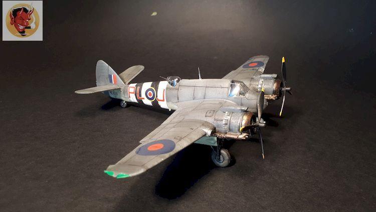Bristol Beaufighter tf.x Airfix 1/72,et Matador  20200317104630