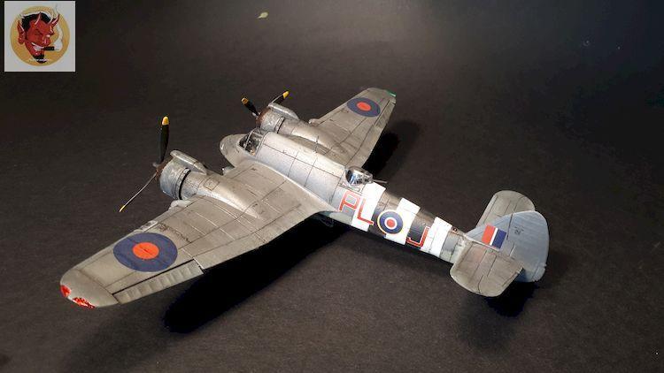 Bristol Beaufighter tf.x Airfix 1/72,et Matador  20200317104658