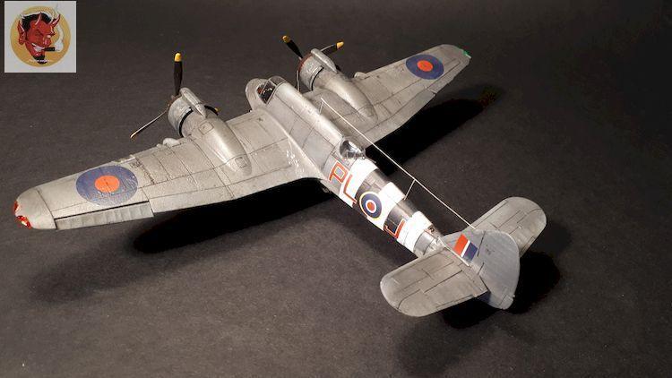 Bristol Beaufighter tf.x Airfix 1/72,et Matador  20200322110954