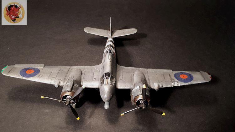 Bristol Beaufighter tf.x Airfix 1/72,et Matador  20200322111034