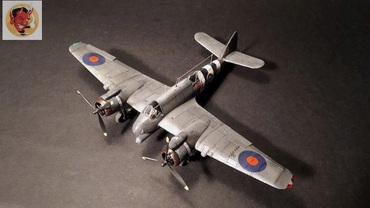 Bristol Beaufighter tf.x Airfix 1/72,et Matador  20200322111049