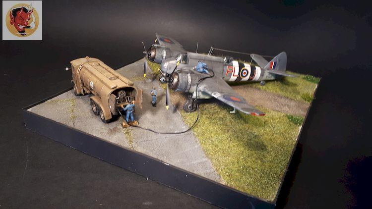 Bristol Beaufighter tf.x Airfix 1/72,et Matador  20200403124105