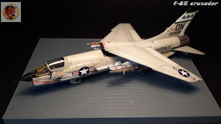 F-8E Crusader Academy 1/72 20200608102338