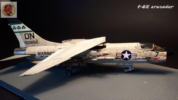 F-8E Crusader Academy 1/72 20200608102414