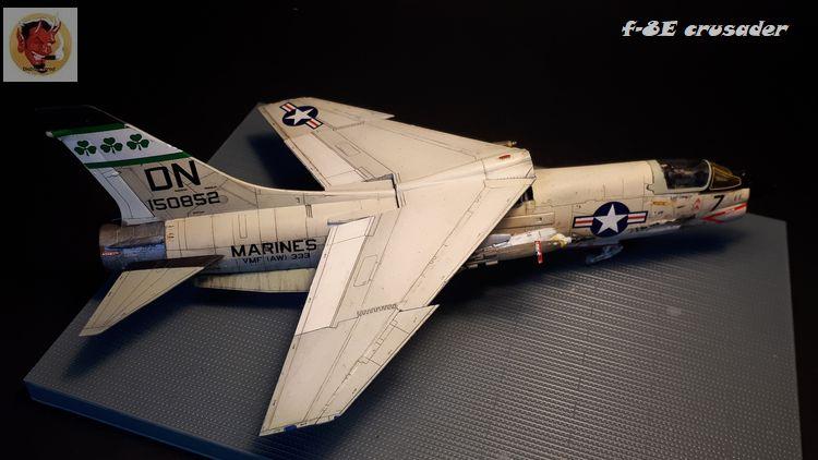F-8E Crusader Academy 1/72 20200608102424