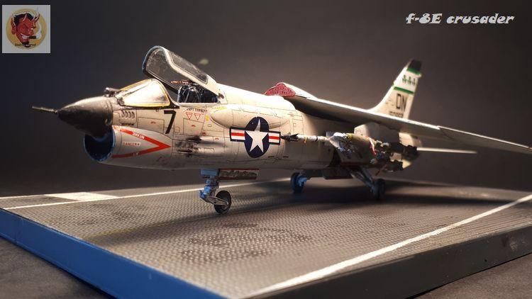 F-8E Crusader Academy 1/72 20200609174247