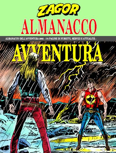 L'uomo venuto dalla pioggia (Almanacco 2005) I499155_alzag20052