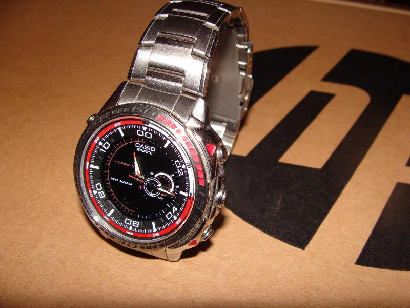 А в кого які годинники? (У кого какие часы) Casio-edifice-efa-121