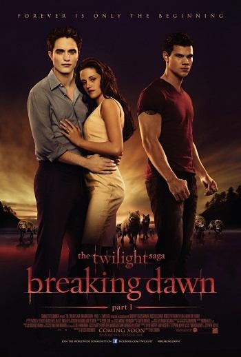 Twilight sága: Rozbřesk / Twilight Saga:Breaking Dawn /2011 Thetwiligh