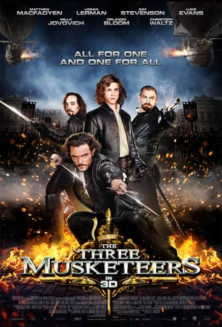 Three Musketeers, The / Tři mušketýři /2011 Trimuskety