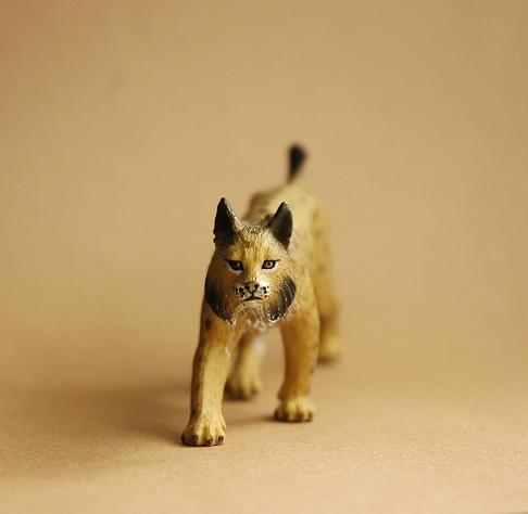 Mojo Iberian Lynx and Giant Sable Antelope Mojolynx1
