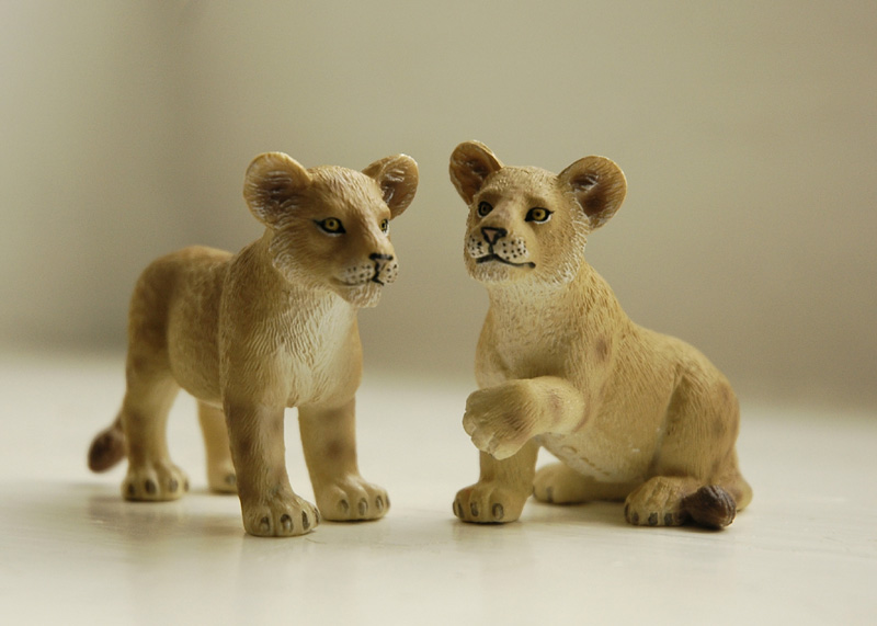 Mojo figurines Mojolioncubs