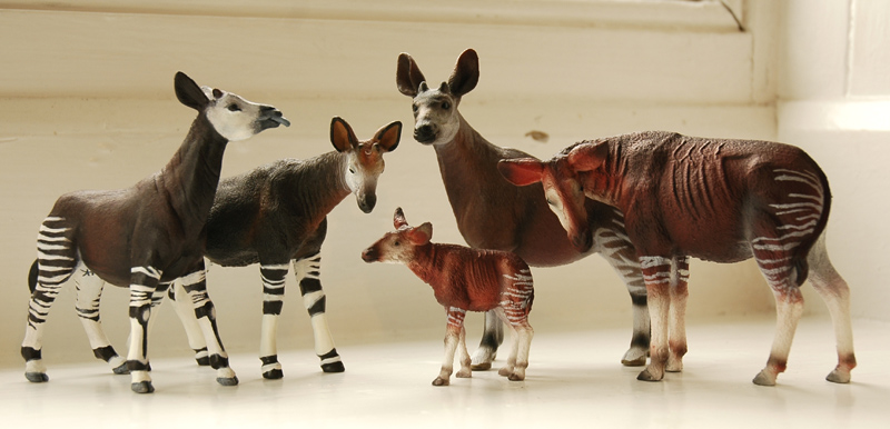 The new Bullyland Okapis - Page 3 Okapis